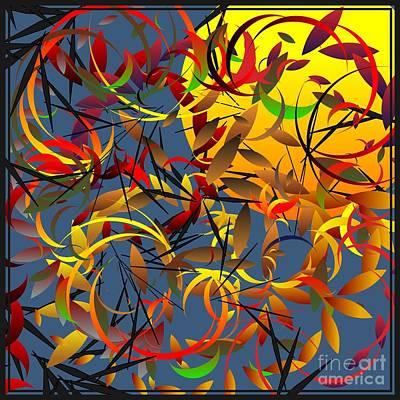 Autumn Wind 2012 Art Print