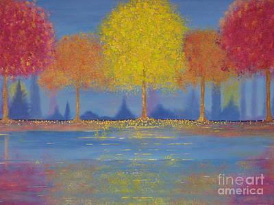 Autumn's Bliss Art Print