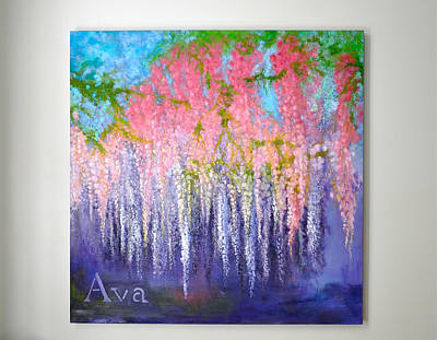 Painting - Ava by Lori Kesten