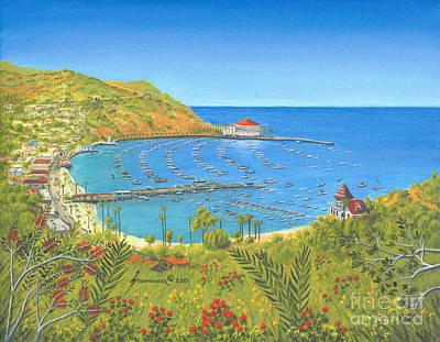 Avalon Catalina Island Original by Jerome Stumphauzer
