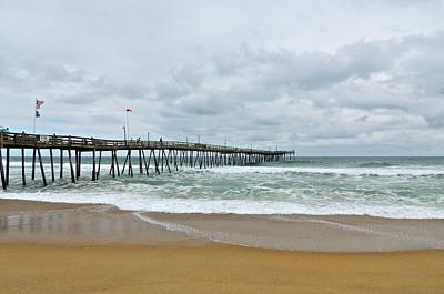 Photograph - Avalon Fishing Pier II by Eve Spring