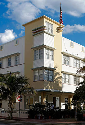 Photograph - Avalon Hotel. Miami. Fl. Usa by Juan Carlos Ferro Duque