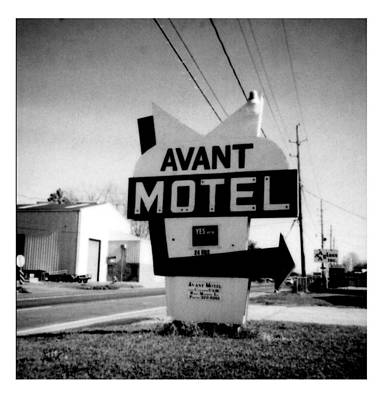 Photograph - Avant Motel- La Hwy 80 by Doug Duffey