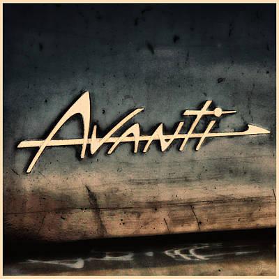 Photograph - Avanti Emblem by Tony Grider