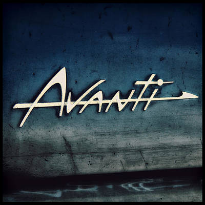 Photograph - Avanti In Blue by Tony Grider
