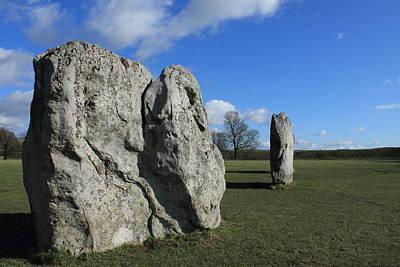 Avebury Stones Art Print by Adrian Wilkins