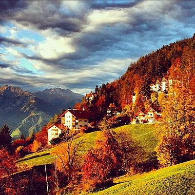 Landscapes Wall Art - Photograph - Avelengo-south Tyrol by Luisa Azzolini