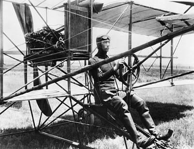 Aviation Pioneer Glenn Martin Art Print by Everett