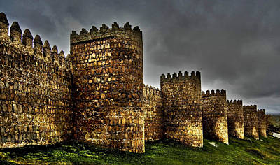 Photograph - Avila - Town Walls by Juergen Weiss