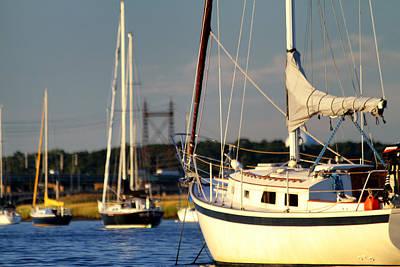 Photograph - Awaiting To Sail by Karol Livote