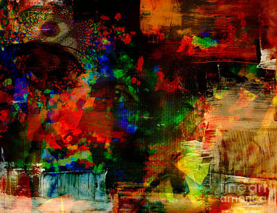 Visionary Art Display Mixed Media - Awareness Of Life Changing In Abstract by Fania Simon