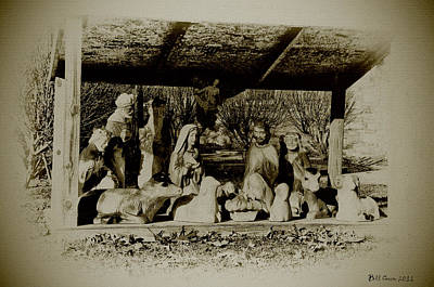 Jesus Photograph - Away In The Manger by Bill Cannon