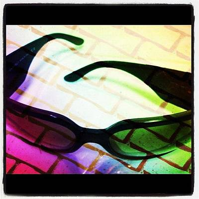 Gears Wall Art - Photograph - #awesome #chanel Sunglasses by Alicia Greene
