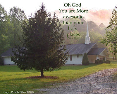 Photograph - Awesome God by Grace Dillon