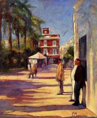 Andalusien Painting - Ayamonte Winter Sunny Day by Germa Marquez