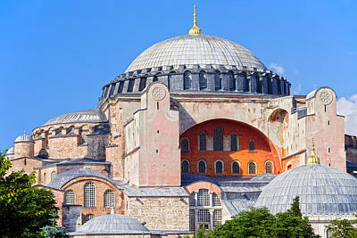 Ayasofya Byzantine Landmark Art Print