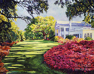 Spring Scenery Painting - Azalea Spring by David Lloyd Glover