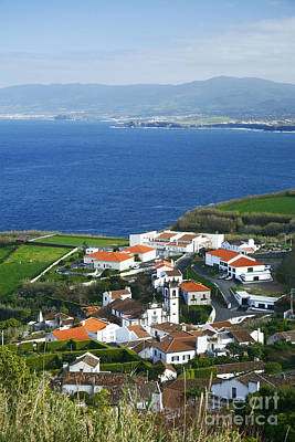 Village By The Sea Photograph - Azores by Gaspar Avila