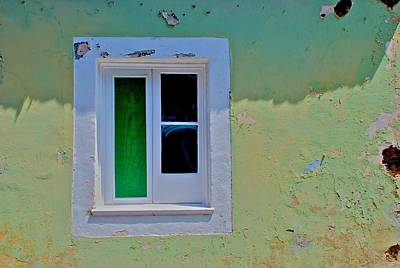 Photograph - Azores Window by Eric Tressler