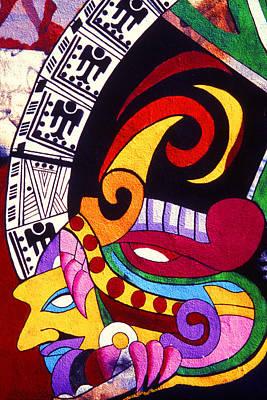 Photograph - Aztec - Graffiti Art by Paul W Faust -  Impressions of Light
