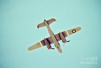 B-25 Bomber Art Print by Beverly  LeFevre