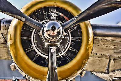 Photograph - B-25 Bomber Prop Hdr  by Lynnette Johns