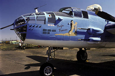 Photograph - B-25 Pacific Princess by Joe  Palermo