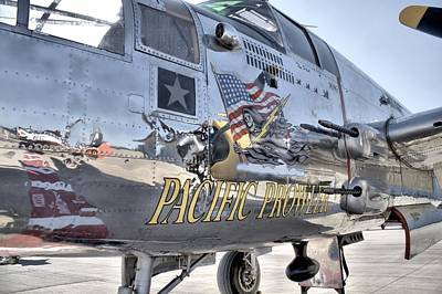 Photograph - B-25 Pacific Prowler  by Lynnette Johns