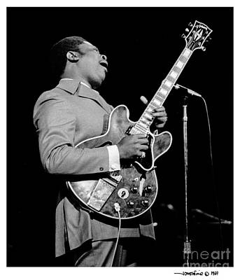 Photograph - B. B. King 2 by Jonathan Fine