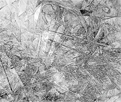 Barrelman Digital Art - B-w 0501 by Marek Lutek