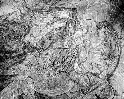 Barrelman Digital Art - B-w 0506 by Marek Lutek