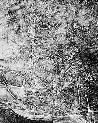 Barrelman Digital Art - B-w 0509 by Marek Lutek