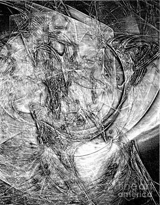 Barrelman Digital Art - B-w 0518 by Marek Lutek