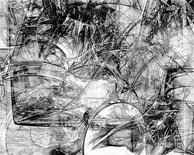 Barrelman Digital Art - B-w 0520 by Marek Lutek