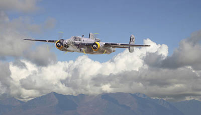 B25 Photograph - B25 - Corsica by Pat Speirs