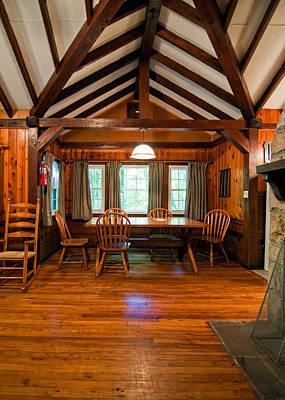 Babcock Cabin Interior 2 Print by Steve Harrington