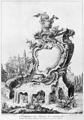1750s Photograph - Babel: Fountain by Granger