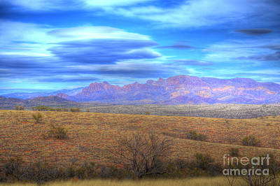 Photograph - Baboquivari Mountains by Donna Greene