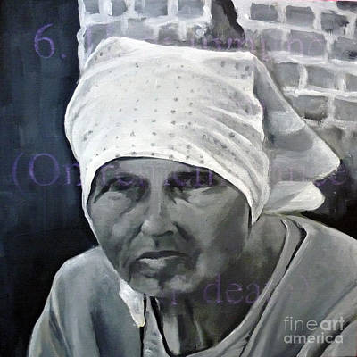 Painting - Babushka by Martina Anagnostou