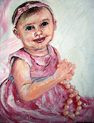 Painting - Baby Girl 2 by Amanda Dinan