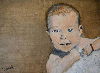 Painting - Baby Jake by Denise Hills