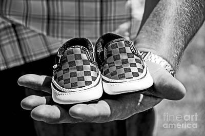Baby Shoes Art Print by Baywest Imaging