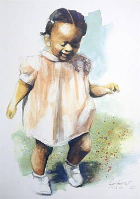 Baby Steps Art Print by Gregory DeGroat