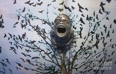Outsider Art Photograph - Baby With Bats by Jody Cooley