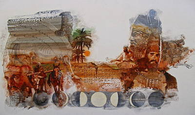 Painting - Babylonian  by Cliff Spohn