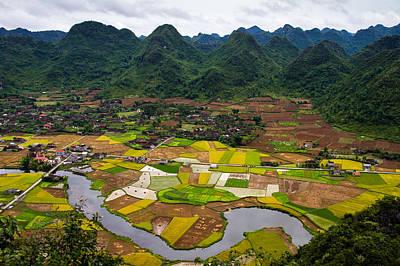Y120831 Photograph - Bac Son Rice Field by Hoang Giang Hai