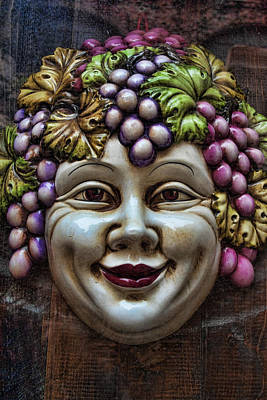 Wine Grapes Photograph - Bacchus God Of Wine by David Smith