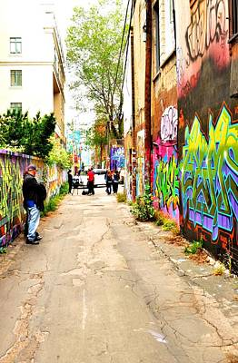 Photograph - Back Alleyway  by Puzzles Shum