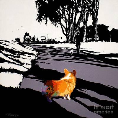 Painting - Back Bay Trail V.28 by Max Yamada