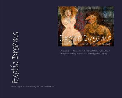 Photograph - Back Cover Of Exotic Dreams by Natalie Holland